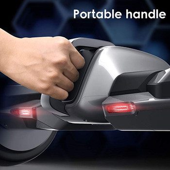 G-F1 8.5 Inch Fastest Racing Hoverboard Silver Portable Handle