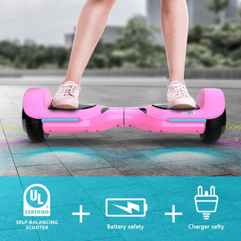 T580 Swift Hoverboard With Colorful LED lights