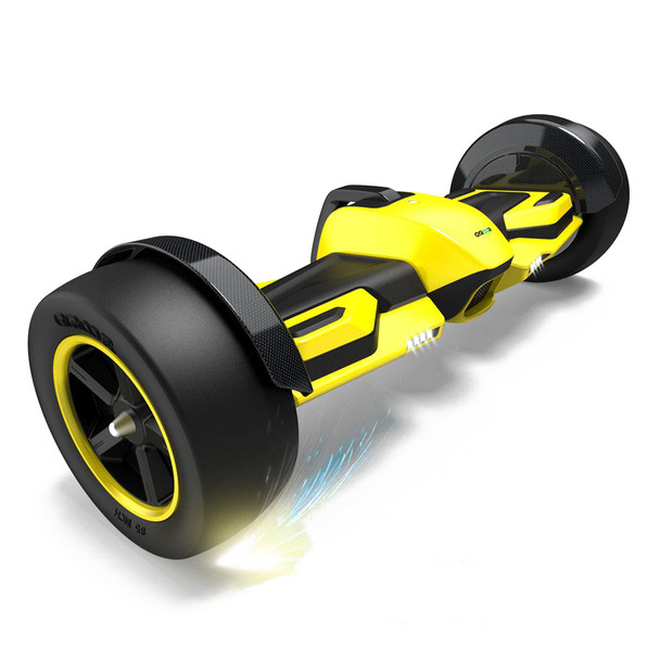 "G-F1 8.5"" Fast Racing Hover Board Yellow"