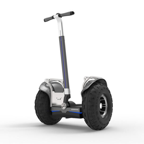 ES6+ 19 Inch 2400W Electric Self Balancing Scooter Black