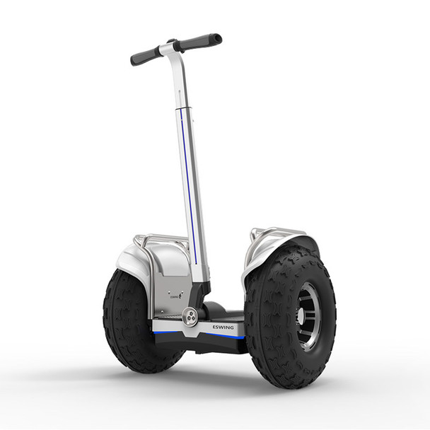 ES6+ 19 Inch 2400W Electric Self Balancing Scooter Sliver