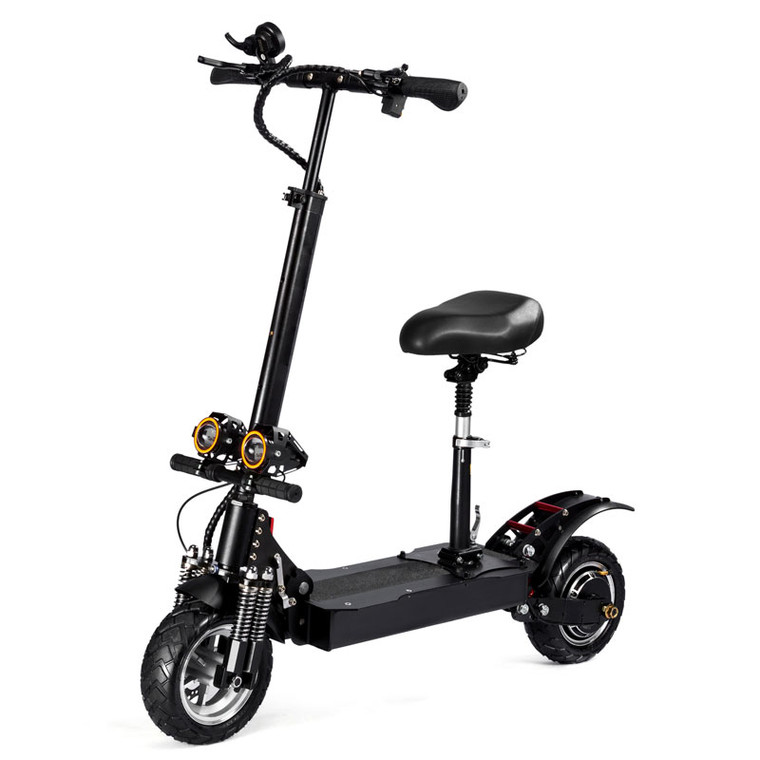 D4+ 2000W Dual Motor Folding Electric Scooter