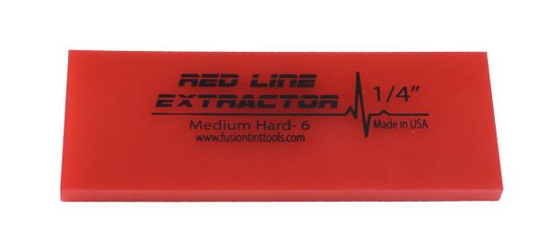 "5"" Red Line Extractor 1/4"" - No Bevel Blade"
