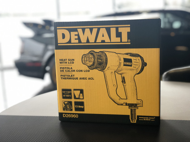 DeWalt Professional Heat Gun with LCD Screen
