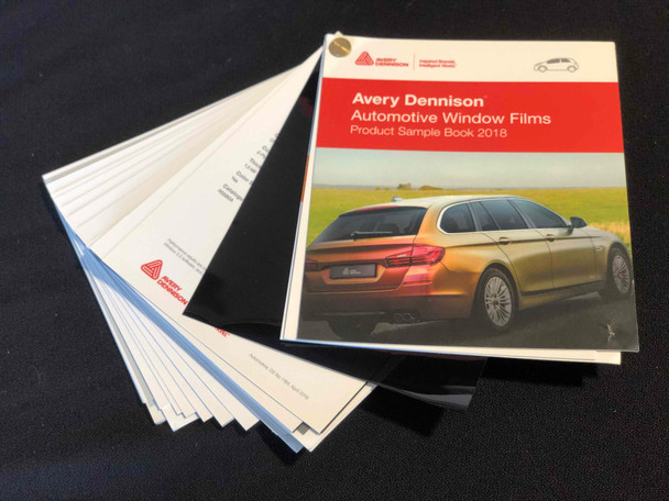 Avery Dennison Automotive Window Film Book w/Swatches