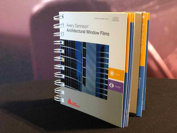 Avery Dennison Architectural Window Film Book w/Swatches