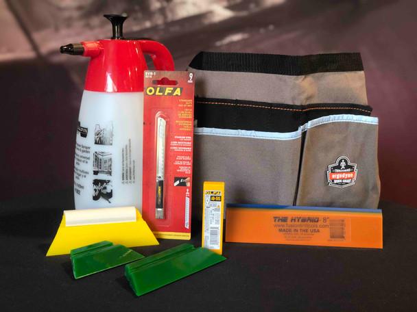 Basic Paint Protection Film (PPF) Installer Kit