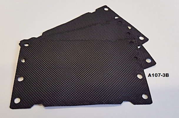Smooth-It Black Mat Replacement Kit 3PK