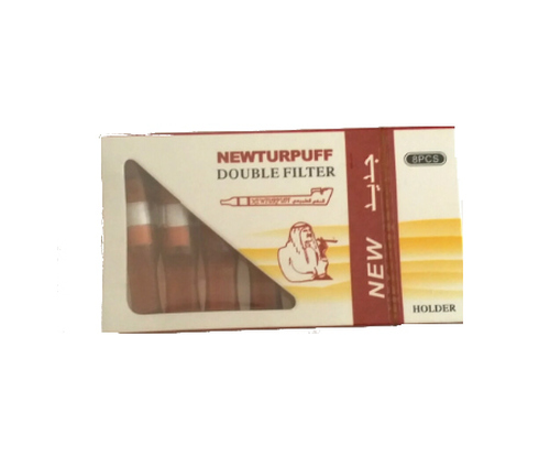 Limited Edition: Turpuff Double Extra Dokha Filters Brown