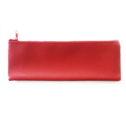 Grande Plum Faux Leather Pouch