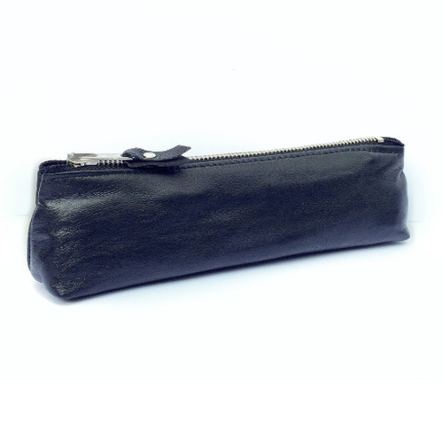 Genuine Leather Pouch - Black