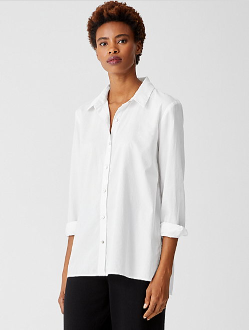 CLASSIC COTTON COLLAR SHIRT