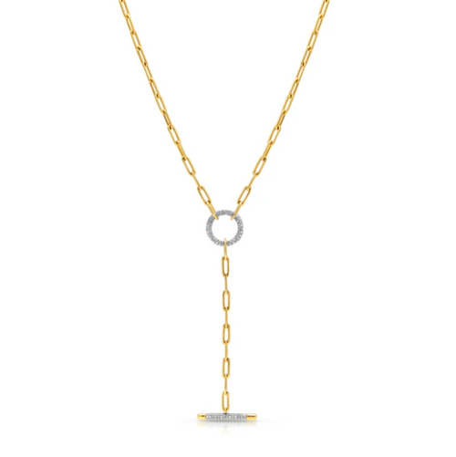 SABELLE CHAIN LINK LARIAT