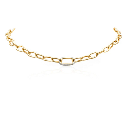 JANESSE CHAIN LINK NECKLACE