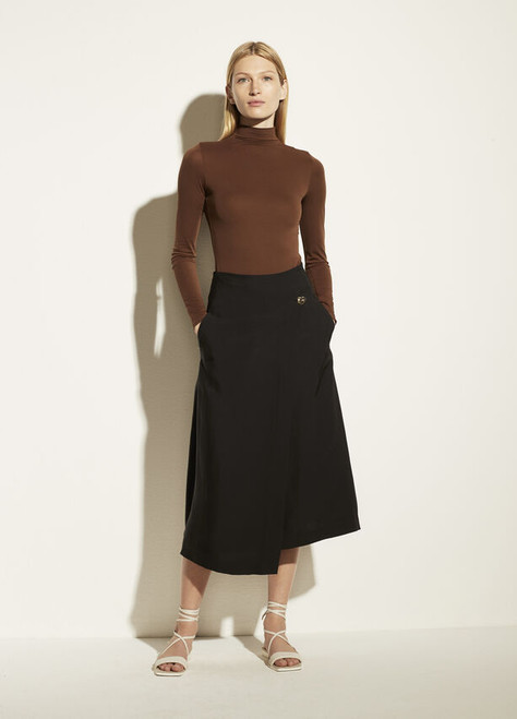 ASYMMETRIC WRAP SKIRT