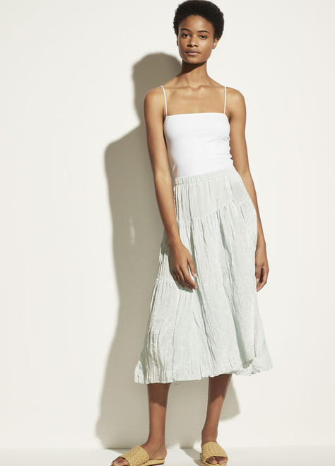 TIERED ASYMMETRIC SKIRT