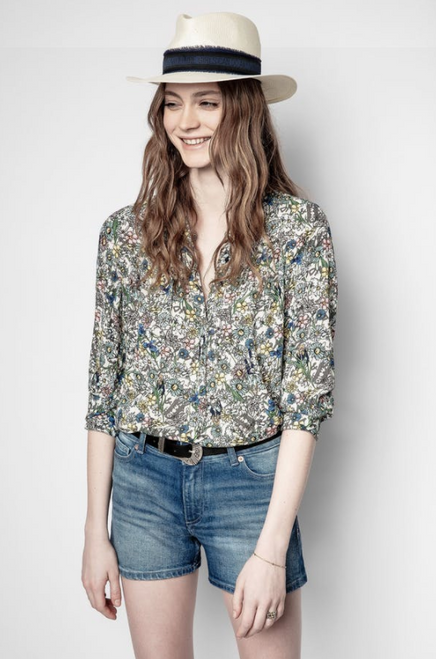 TINK CRINKLE BLOUSE