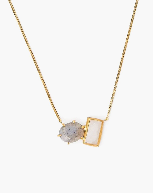 HEALING STONE DUO NECKLACE