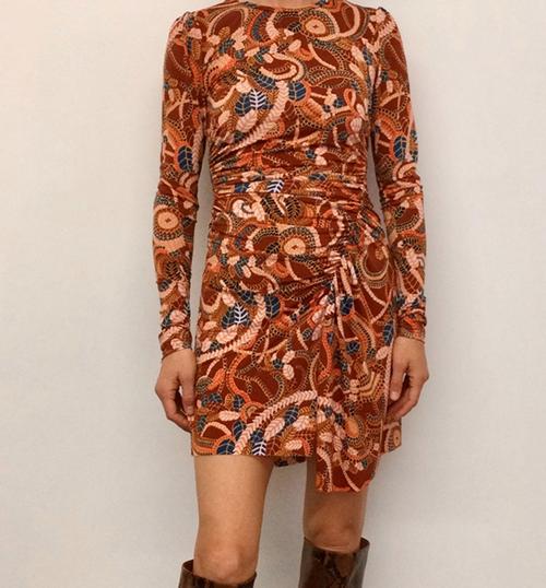 MARYN PRINT DRESS