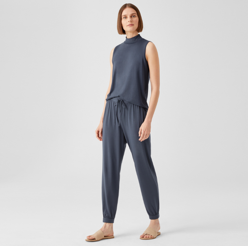 ANKLE KNIT TRACK PANT