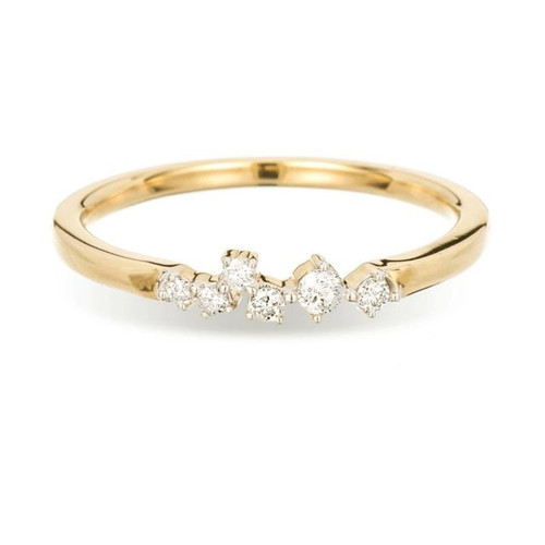 SCATTER DIAMOND RING -Y14 -7