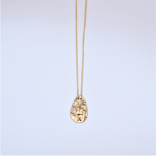 DBLE GLDFILL CHAIN/KNOT-GOLD
