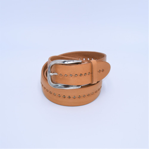 LEATHER BELT PERFORATED