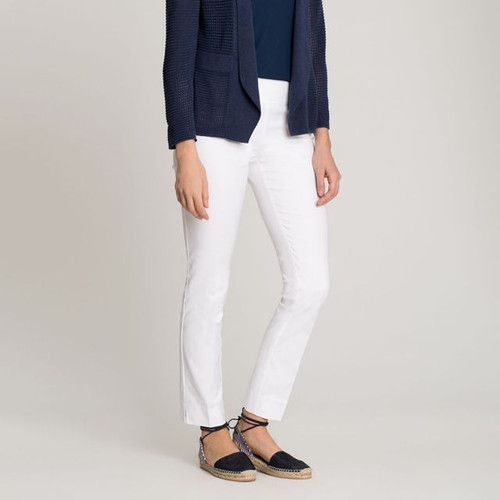 THE PERFECT  PANT -WHITE - 6