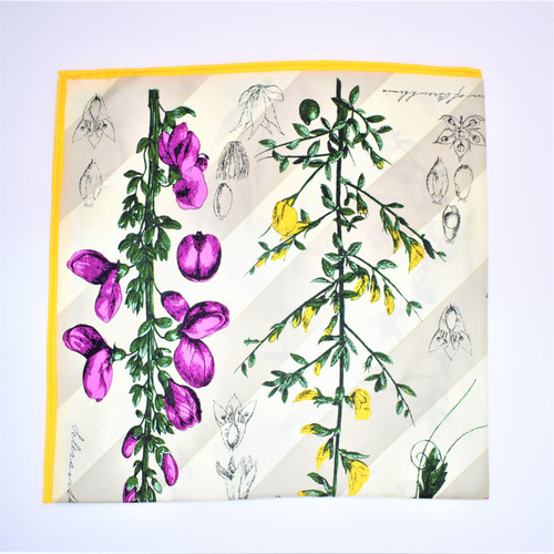 FLOWER BOOK SCARF