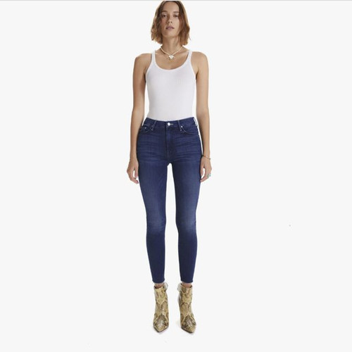 HIGH WAISTED LOOKER ANKLE FRAY