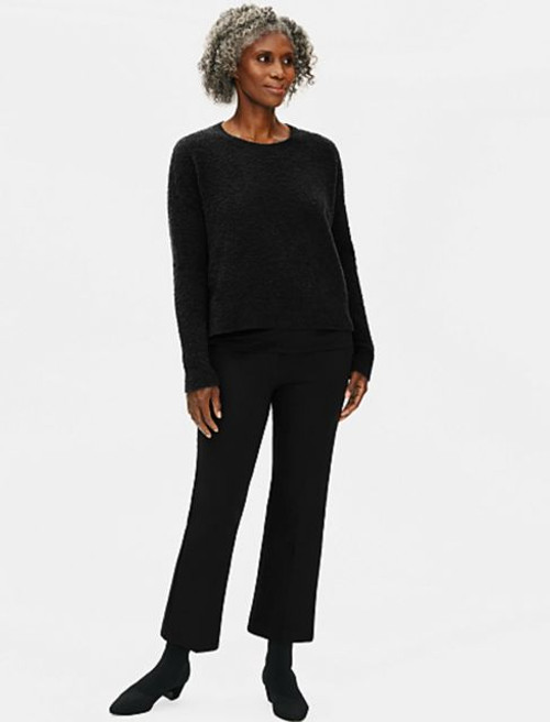 HI-WAISTED CROPPED PANT