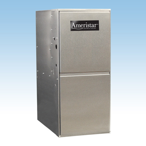 80,000 BTU 95% Ameristar, Single Stage, Up Flow Gas Furnace (3.5 Ton)