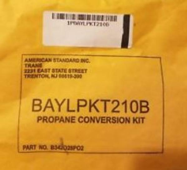 LP Conversion Kit Model Number BAYLPKT210B