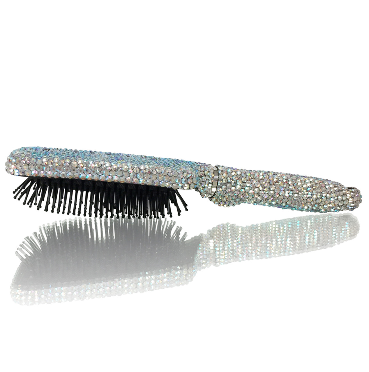 Square Shape Crystal Brush
