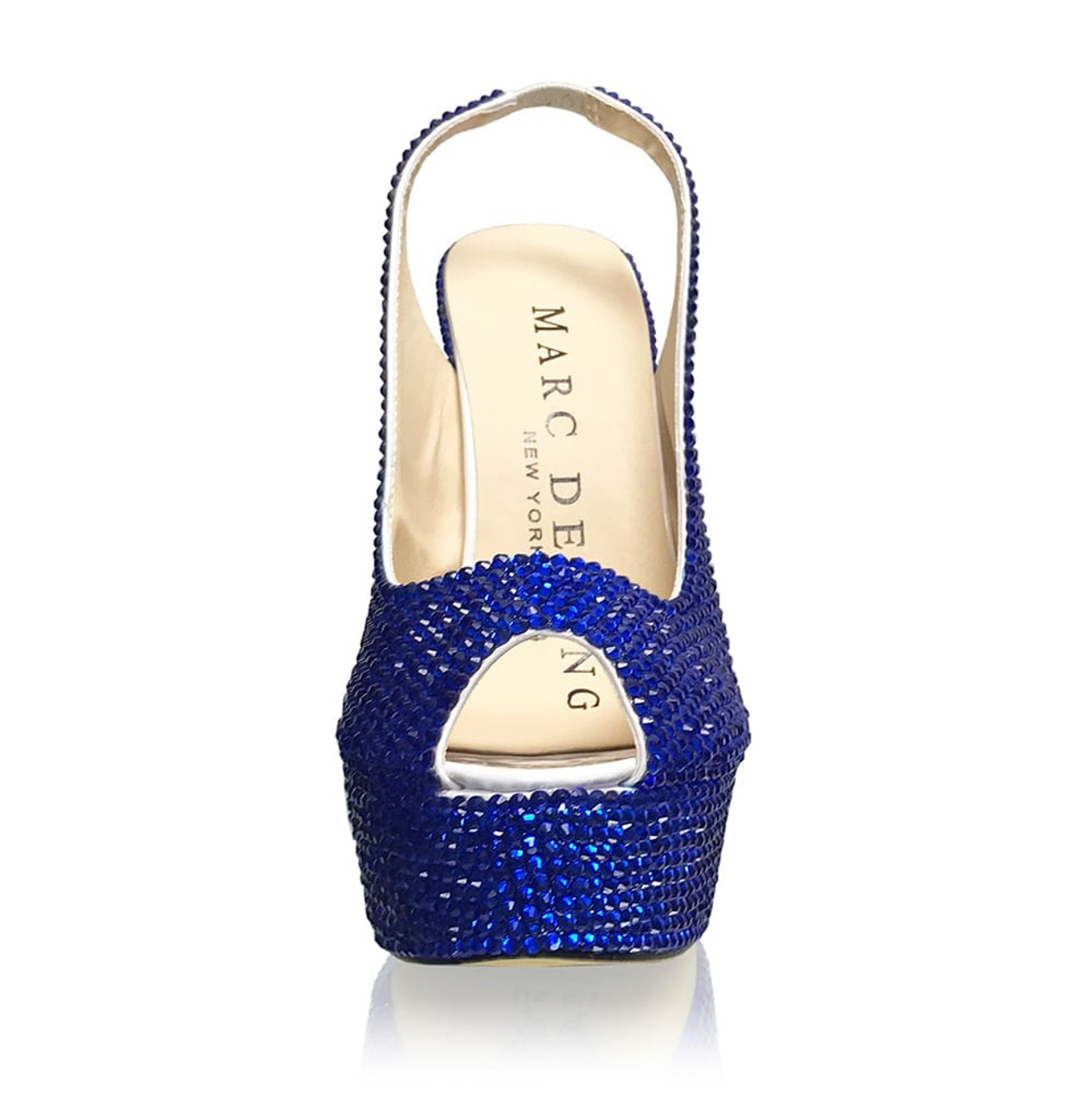 Personalized I DO Crystal Slingback
