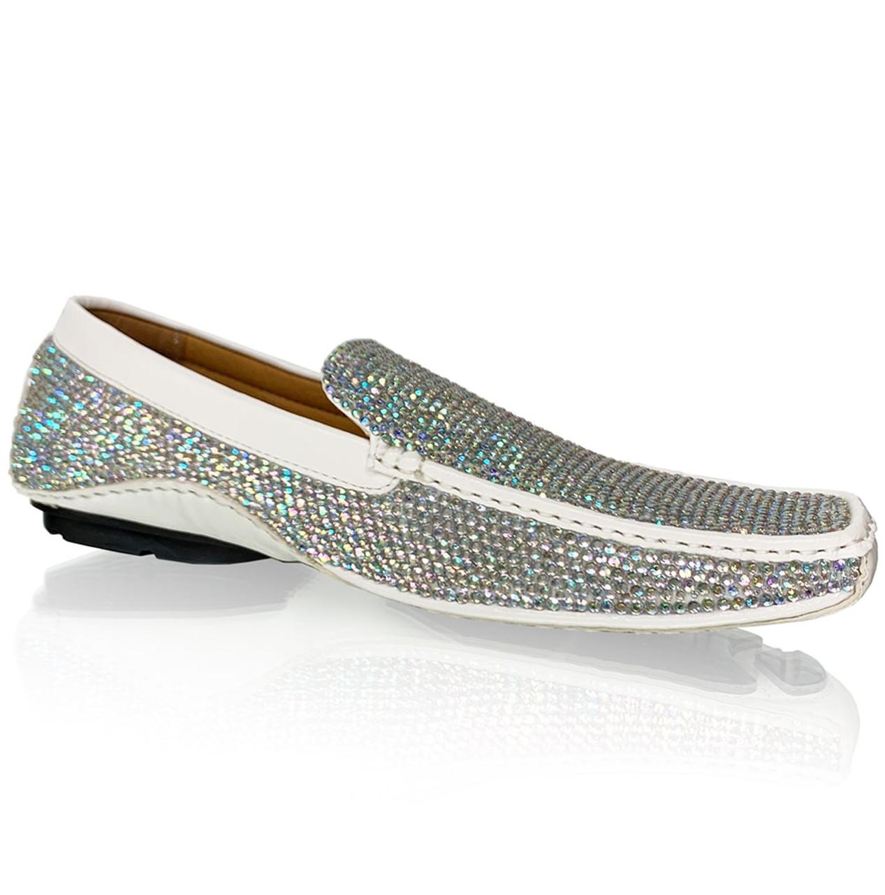 AB Crystal Formal Loafer