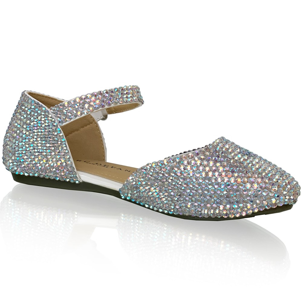 Crystalized Sandal Flats