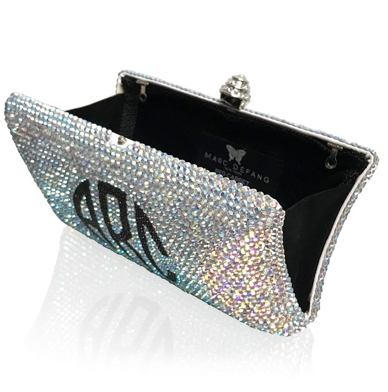 Monogram Large Crystal Clutch (iPhone Xs Max Friendly)