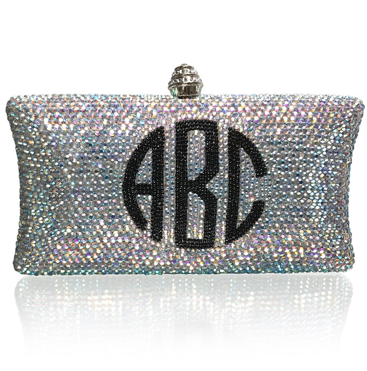 Monogram Clutch (iPhone Xs Max Friendly)