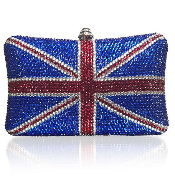 Union Jack Large Clutch (iPhone Xs Max friendly)