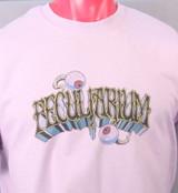 Double Eyeball Logo Tshirt. A Peculiarium original by Colin Batty on a 100% Cotton Tee.