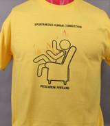 Spontaneous Human Cobustion (SHC) shirt
