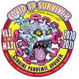 Covid Sticker