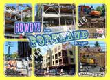 Howdy from Portland! Postcard