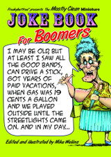 Joke Book for Boomers by Mike Wellins