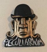 Tentacle Man with Bowler Hat Fridge Magnet