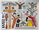 Jesus Dress Up Fridge Magnet Set - Final Justice Edition