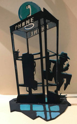 Shadowlands Laser Cuts:  Spy in Phonebooth