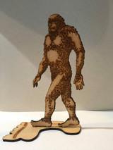 Shadowlands Laser Cuts:  Bigfoot Standing