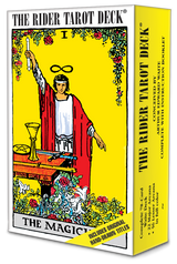 Well established as a classic, the Rider-Waite Tarot Deck remains faithful to the artistry of Pamela Colman Smith's 1909 design.